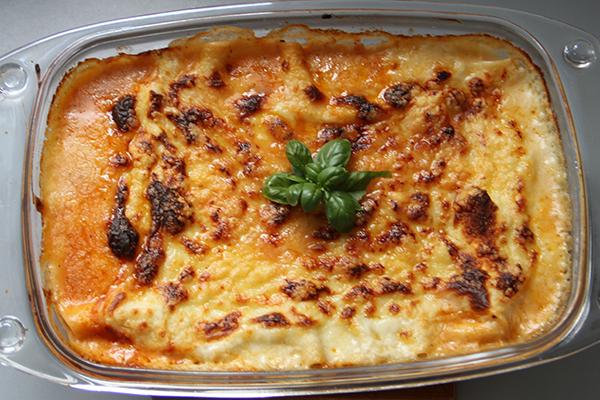 Hjemmelaget lasagne