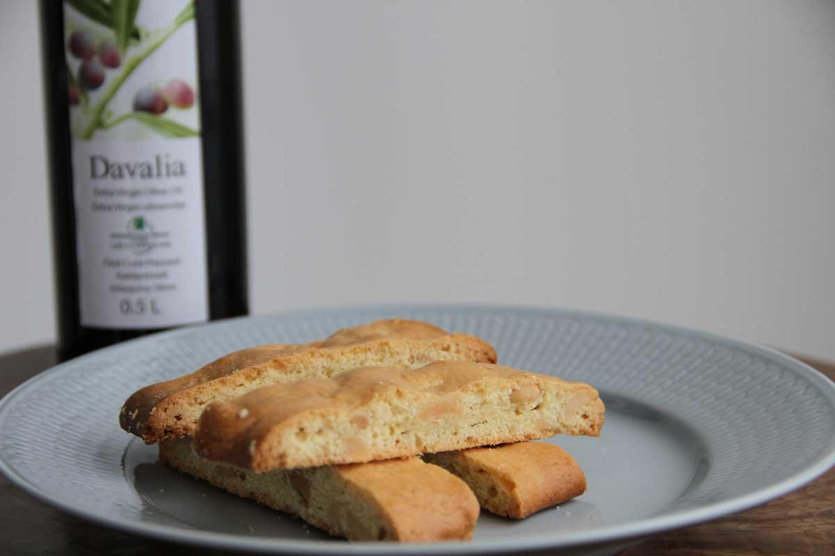 biscotti med olivenolje