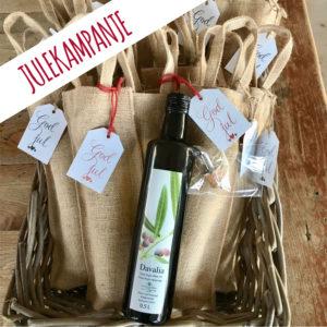Davalie extra Virgin olivenolje julekampanje